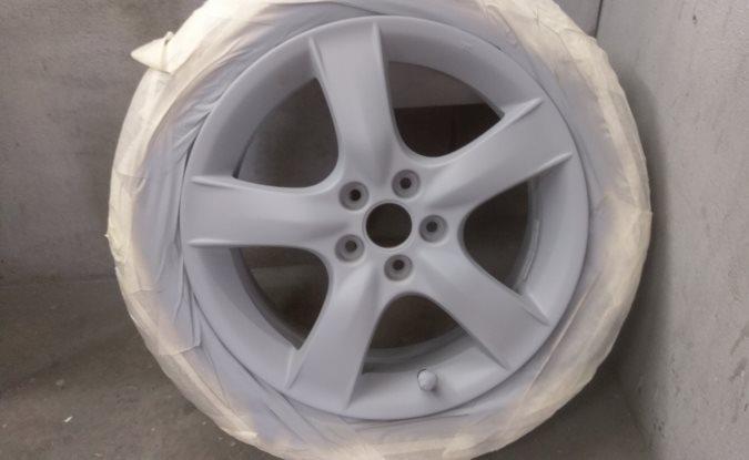 Alloy wheels refurbished